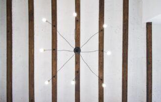 Reforma Integral de piso en Valencia - Detalles del Techo con vigas de madera