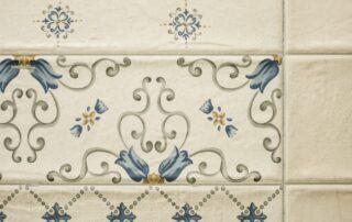 Detalle del azulejo valenciano utilizado en la reforma del piso