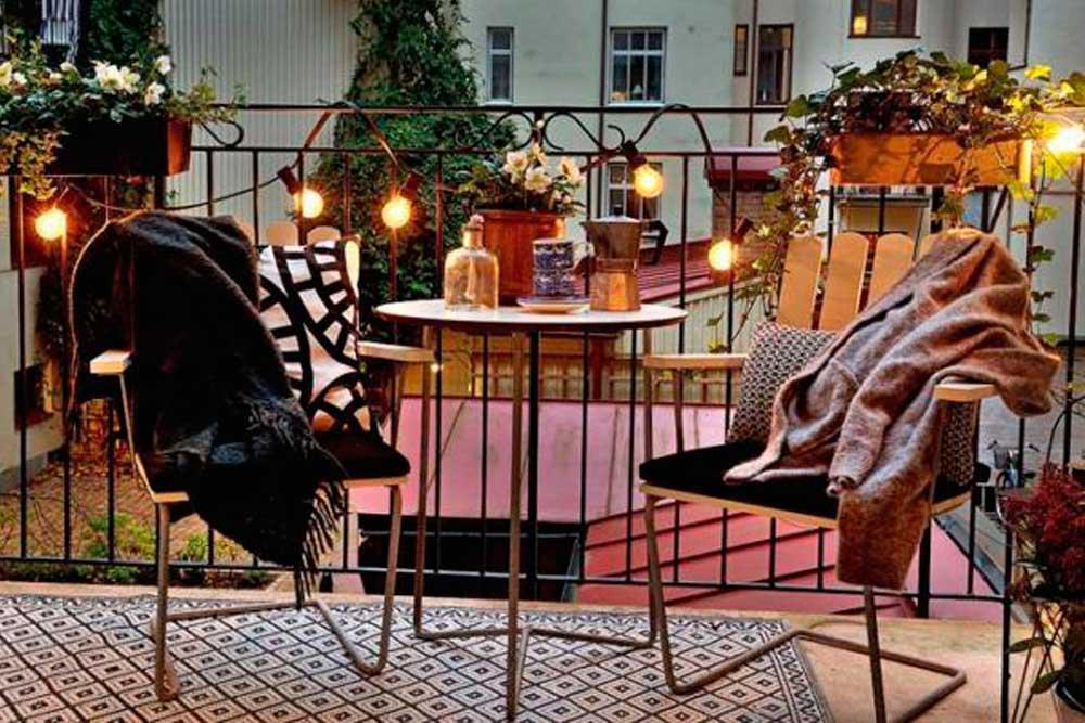 monta tu terraza en el balcón